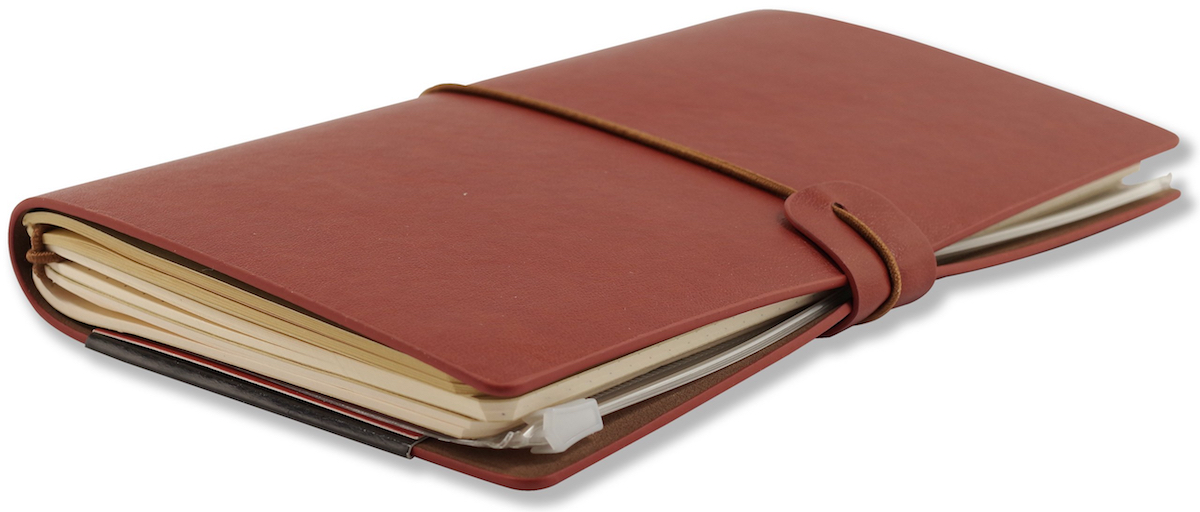 Burgundy Voyager Notebook